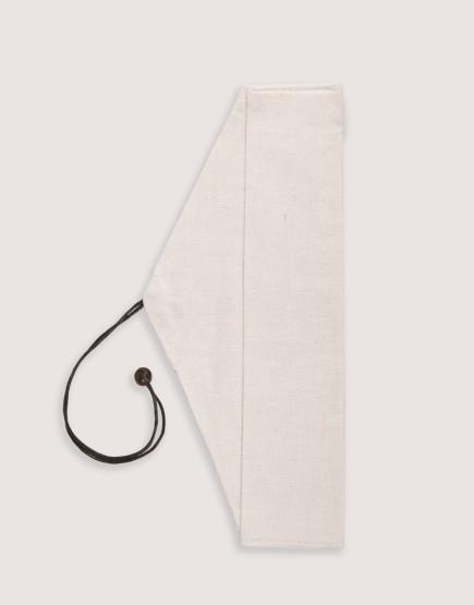 三角棉布筷袋 餐具袋