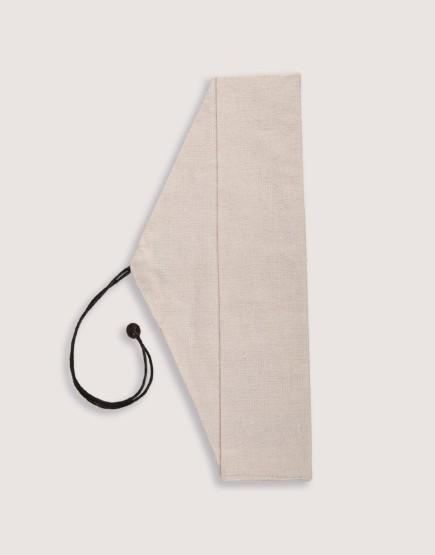 三角棉麻筷袋 餐具袋