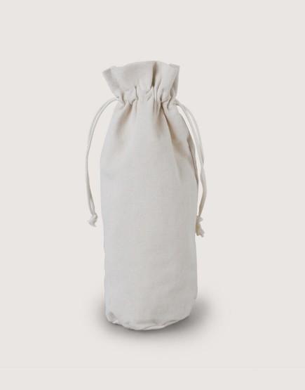 荷葉邊圓底束口袋│厚帆布│大尺寸