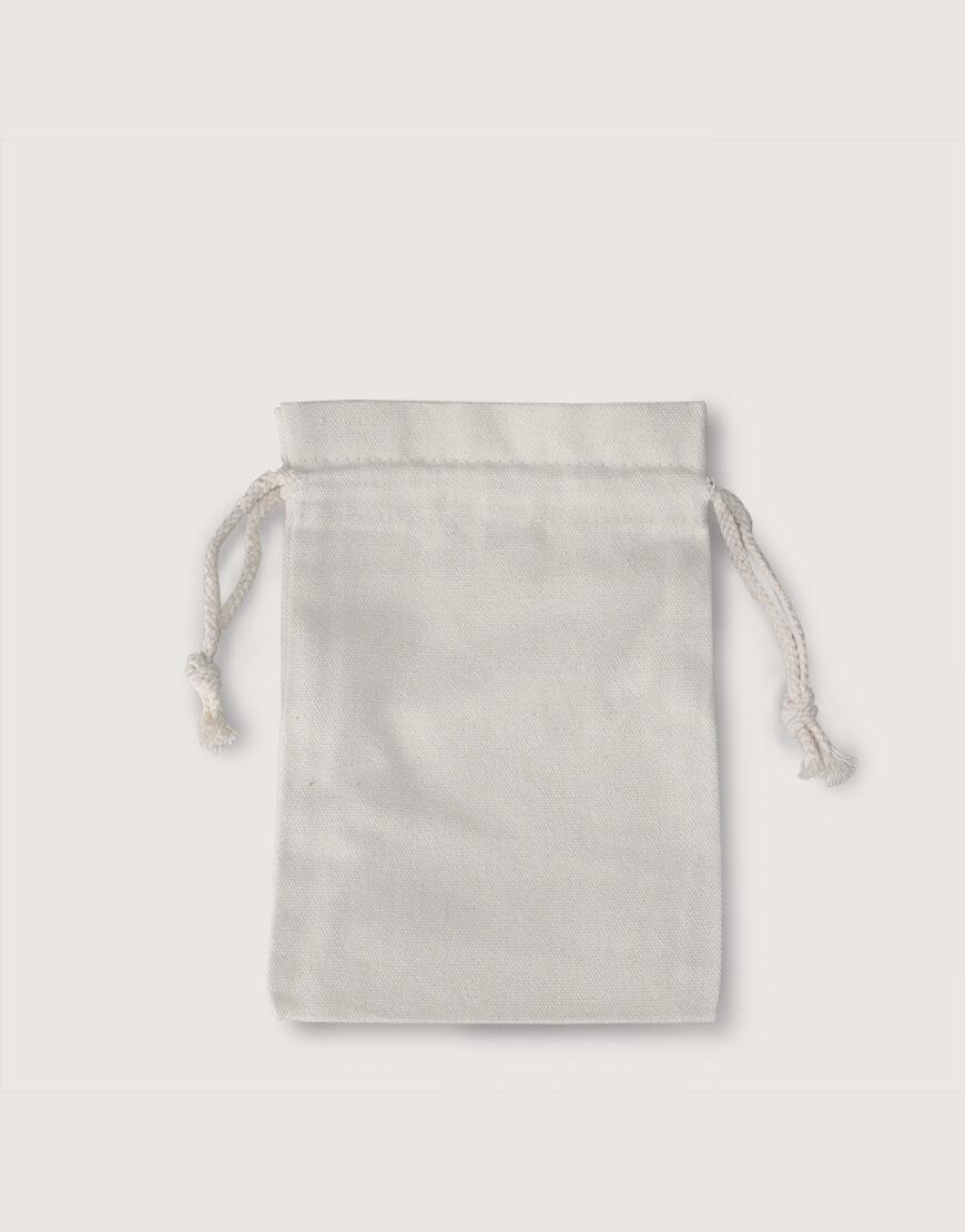 荷葉邊束口袋│厚帆布│禮物收納袋