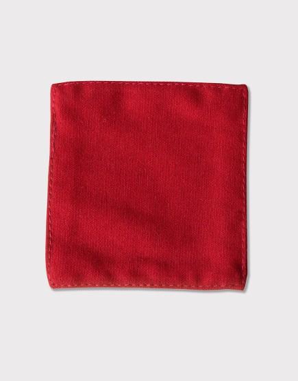 帆布材質│杯墊│紅色