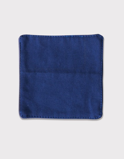 帆布材質│杯墊│藍色