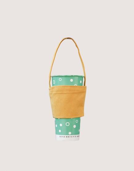 飲料提袋 | 12N雙層帆布 | 鵝黃色
