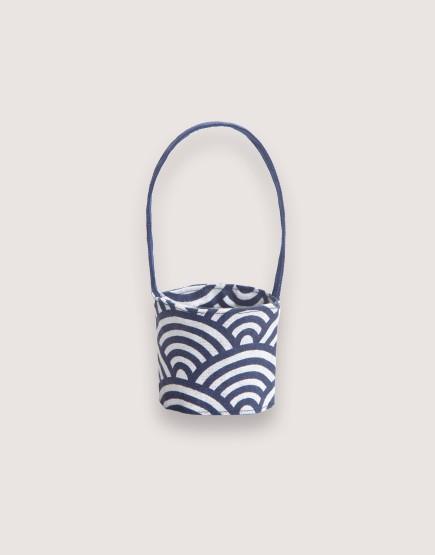 飲料提袋 | 12N雙層帆布 | 祥雲 | 雙面印花