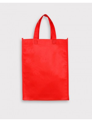 不織布直式袋│有底有側│紅色