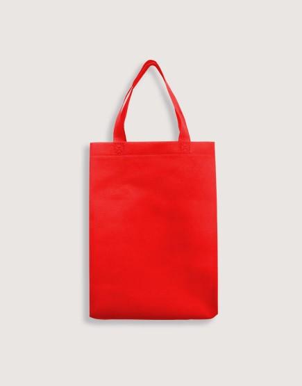 熱壓不織布直式袋 有底有側 -S號 (現貨三色可選)