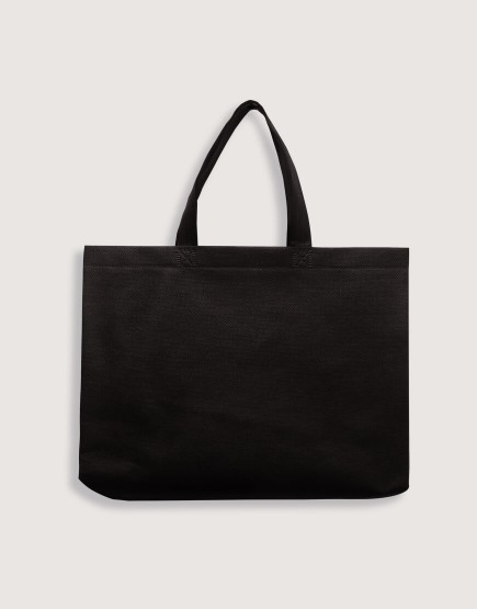 熱壓不織布橫式袋 有底有側 -M號 (現貨三色可選)