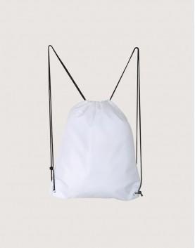 尼龍布420D-白色│束口後背包│束口袋