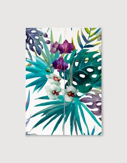 預購門簾 | 蘭花 | 布簾