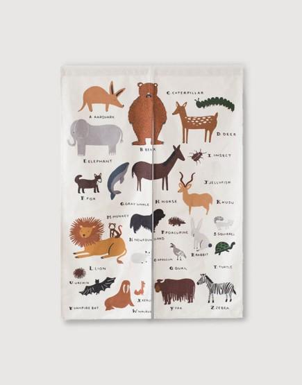 預購門簾 | 動物樂園 | 布簾