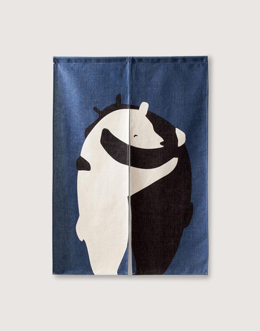 現成門簾 | 給一個擁抱-熊 | 布簾