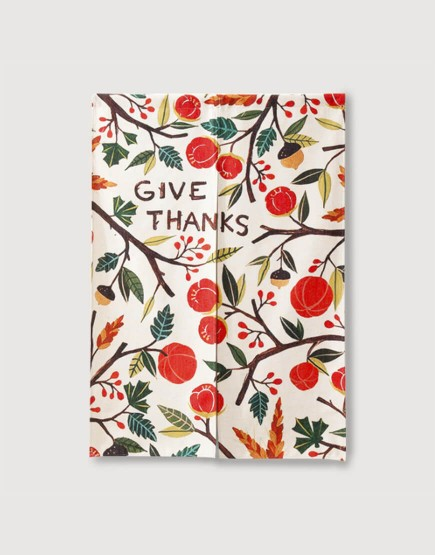 現成門簾 | Give Thanks | 布簾
