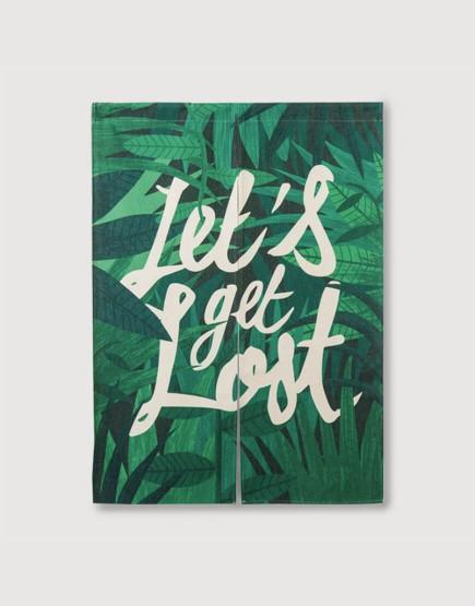 現成門簾 | Let's get Lost - 叢林 | 布簾
