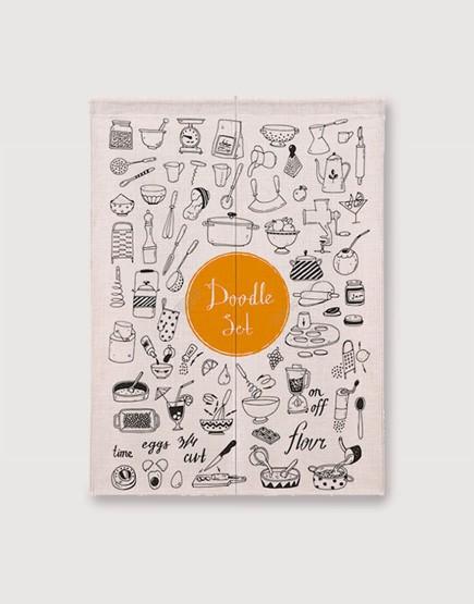 預購門簾 | Doodle Set | 布簾