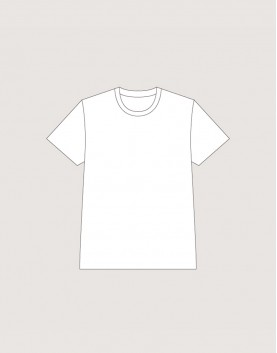 T-shirt│220G   白色