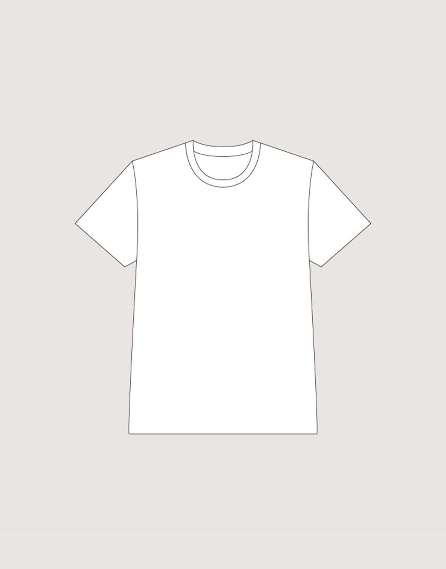 MIT精梳棉T-shirt│280G | 白色