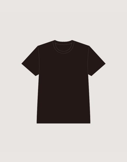 團體服客製T-shirt│精梳棉黑色