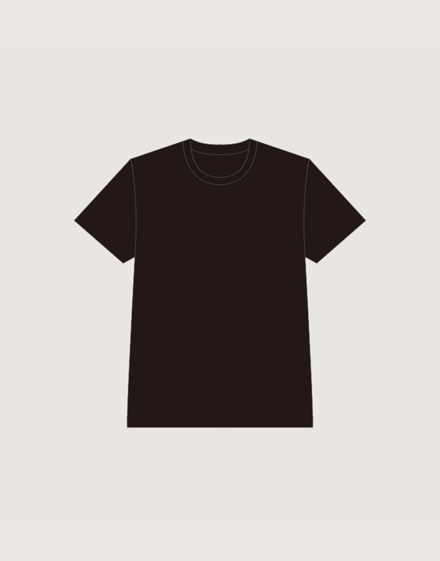 T-shirt│精梳棉黑色