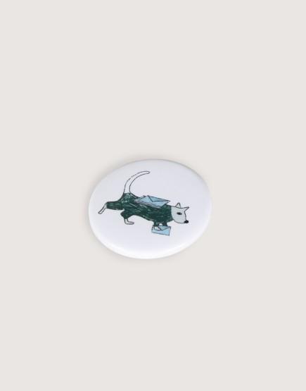 胸章 | 動物郵差 |大尺寸 | 10入