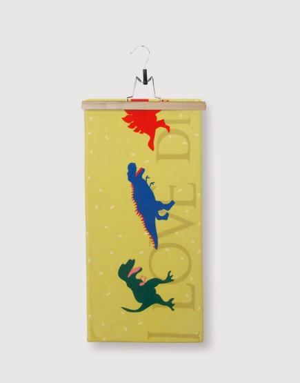 恐龍毛巾 | 毛巾 25*100 | 單面印刷