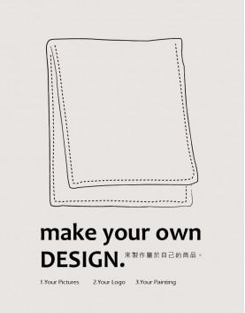 客製服務   運動毛巾 28*110  單面印刷