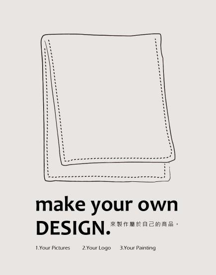 客製服務 | 運動毛巾 35*70 | 單面彩色印刷 | 100件起訂