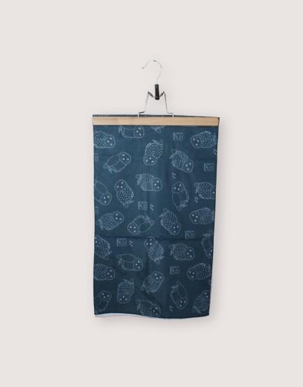 貓頭鷹 | 運動毛巾 35*100 | 單面印刷