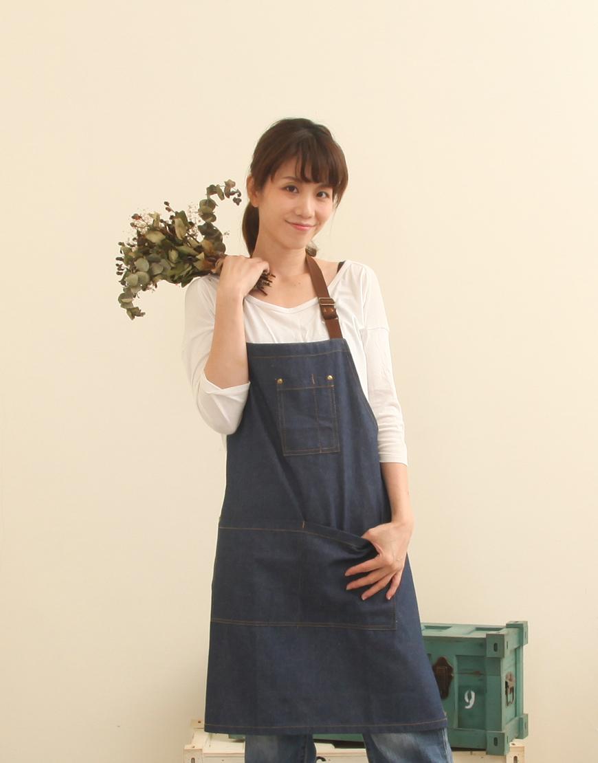 客製圍裙印製   牛仔圍裙