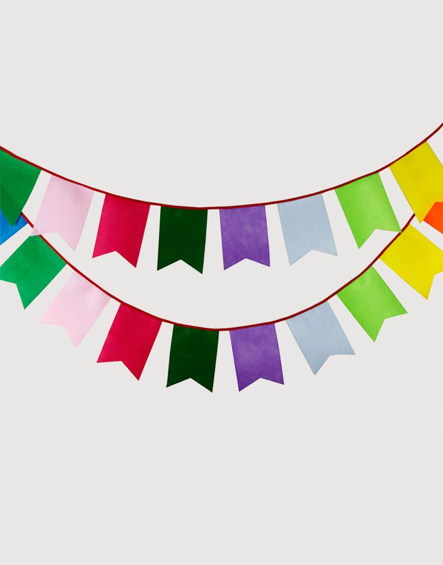 不織布 | 彩虹 | 五角旗