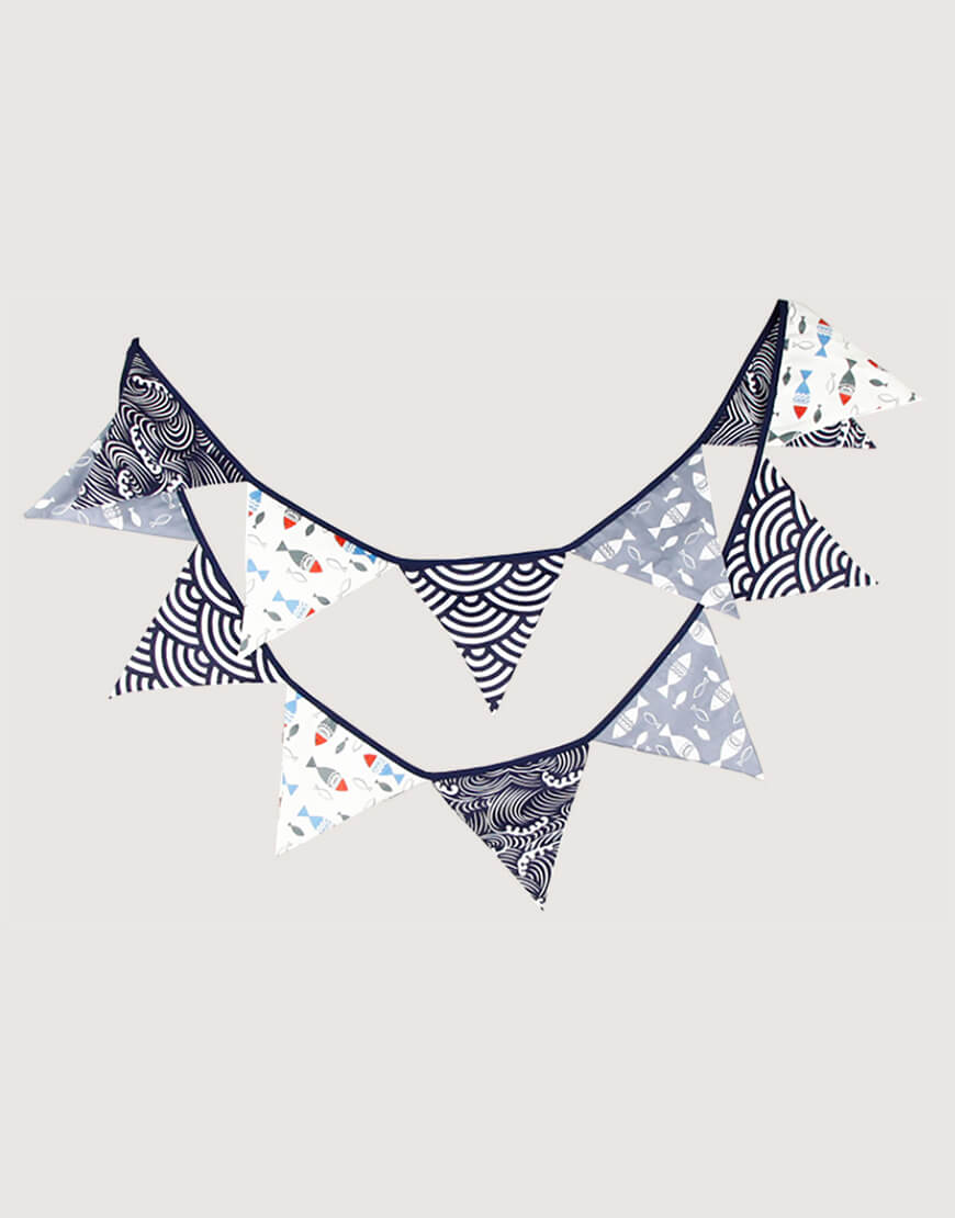 棉布 | 和風 | 三角旗