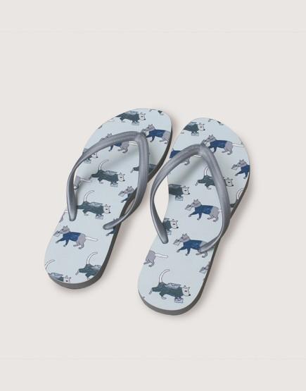 海灘拖鞋 | 動物郵差 | 女生版