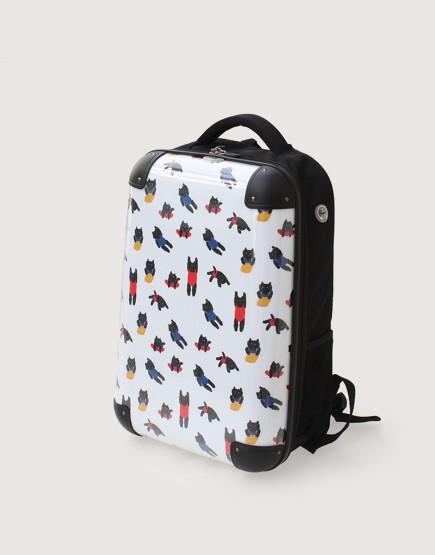預購 硬殼背包 | 行李箱 | 貓咪游泳