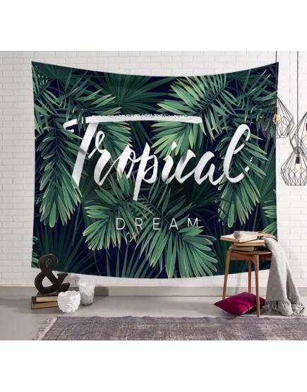 綠植藝術掛簾