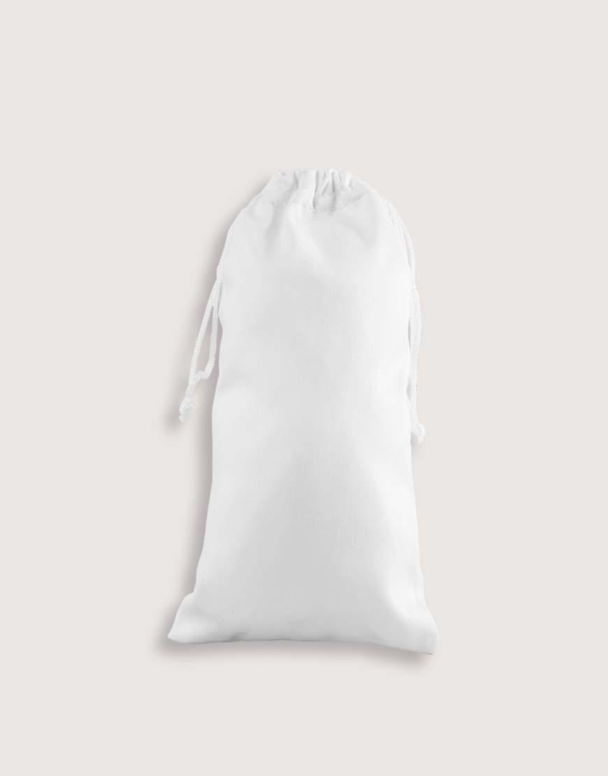緞面布束口袋 小