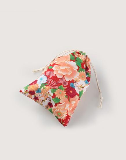 花布束口袋 | 客家花布