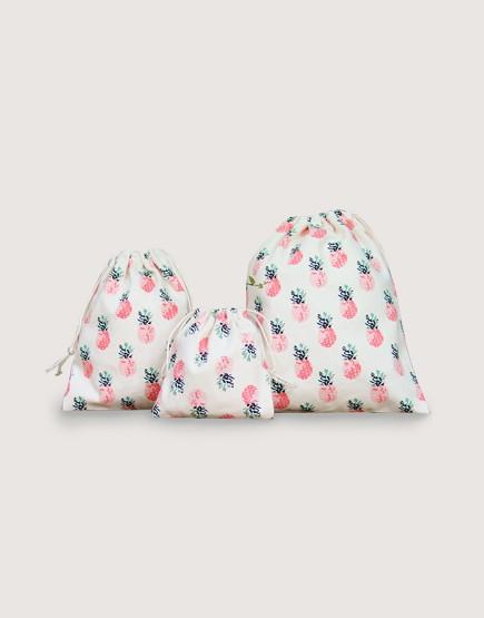 花布束口袋 | 鳳梨束口袋 | 大尺寸