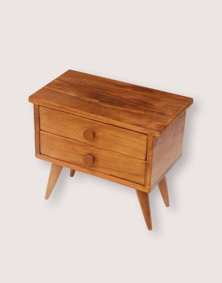 木製品 | 小橫腳櫃 | 2抽
