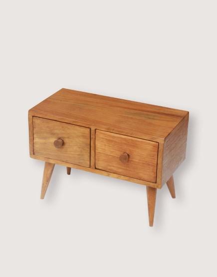 木製品 | 方腳櫃 | 2抽