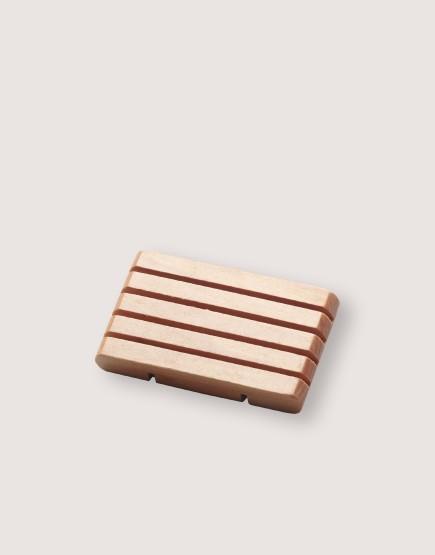 木製品 | 皂盤 | 橫條圓角款