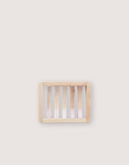 木製品 | 皂盤 | 條紋微彎款