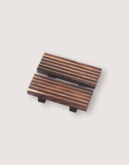木製品 | 皂盤 | 深漆長方款