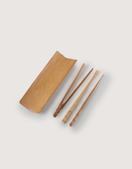 竹製品   茶道4件組