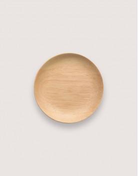 木製品 | 木盤 | 圓型橡膠木盤 | 小