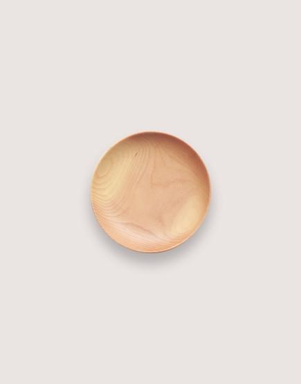 木製品 | 木盤 | 圓形雲杉木盤 | 迷你