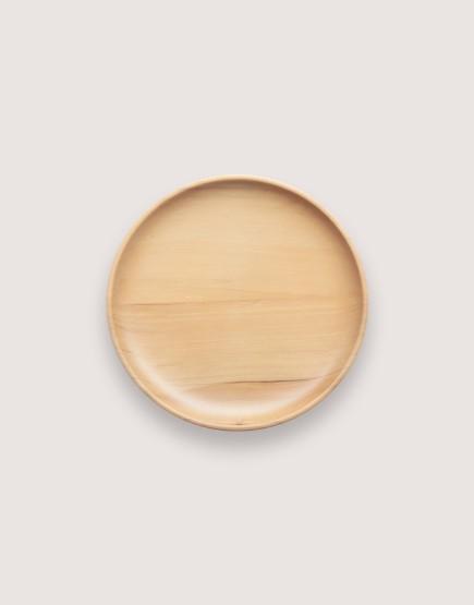 木製品 | 木盤 | 圓形雲杉木盤 | 中