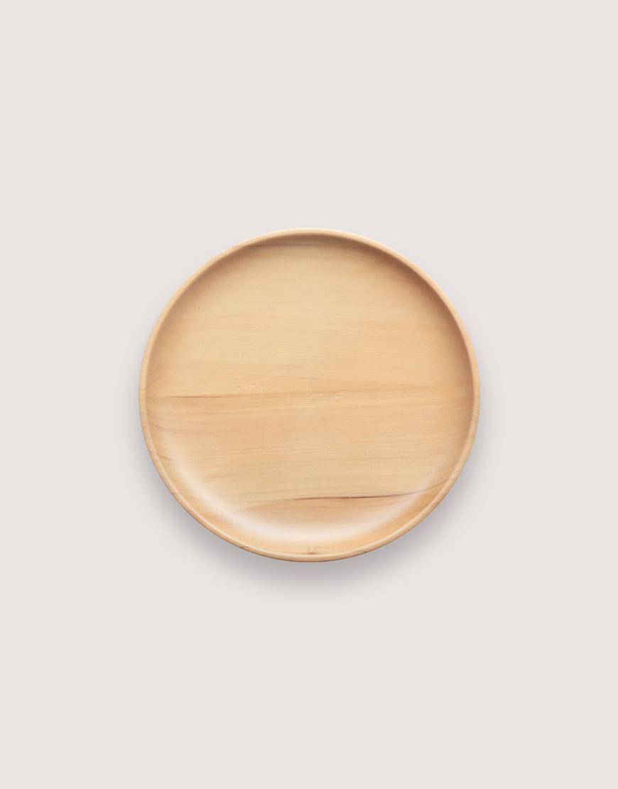 木製品   木盤   圓形雲杉木盤   中