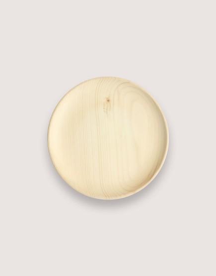 木製品 | 木盤 | 圓形雲杉木盤 | 大
