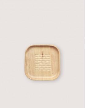 木製品 | 方形櫸木-刻紋