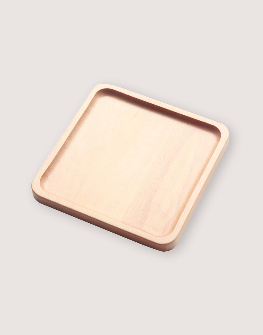 木製品 | 方形櫸木托盤