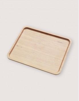 木製品 | 方形櫸木托盤 | 大